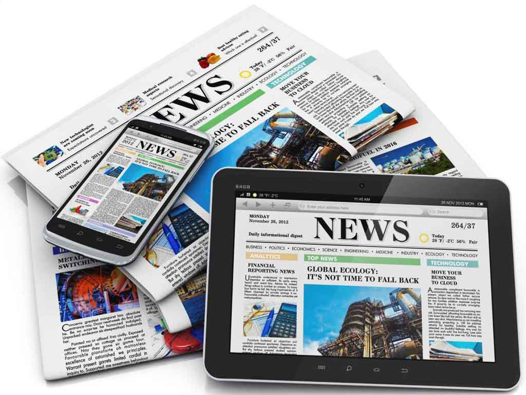 Website Designing for Newspaper and Magazines