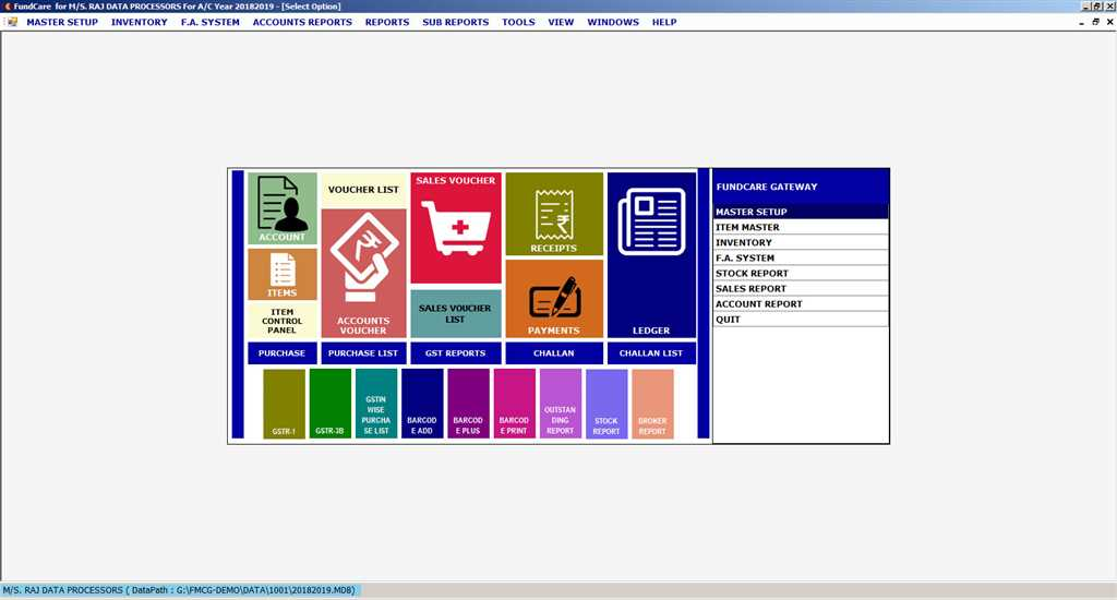Software for FMCG Distributor
